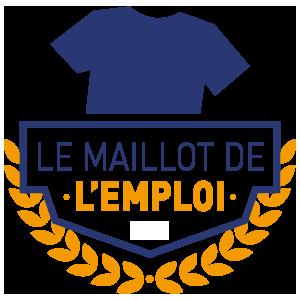 Image representant le logo du label Le Maillot de l'Emploi 2016