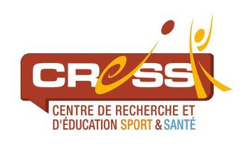 Logo Centre de Recherche et d'Education Sport et Santé